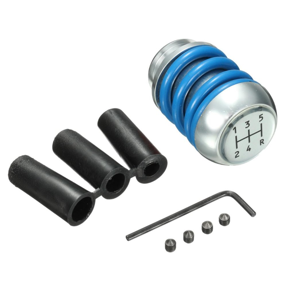 Toko Spring Style Manual Car Gear Shift Shifter Lever Knob Stick Cover Universal Blue Intl Terlengkap Di Indonesia