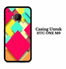Tips Beli Squares 1 Htc One M9 Custom Case Hardcase Yang Bagus