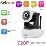 Sricam 720 P Wifi Megapixel H 264 Nirkabel Pt Onvif Cctv Keamanan Ip Camera Us Intl Sricam Murah Di Tiongkok