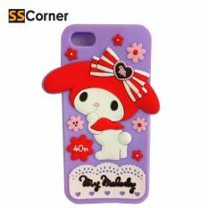 SS Corner Softcase 3D Boneka My Melody  For Iphone5