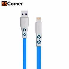 SS Corner Vivan CTL100 1M Flat Kabel Data Lightning Mini Tube for iPhone 5/ 5S/ 6/ 6S 1meter