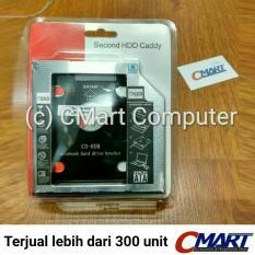 SSD HDD Caddy Slim 9.5mm SATA DVD Slot Hardisk - GRC-BR-HDSC95