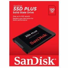 SanDisk SSD Plus 120GB SATA - SDSSDA-120G - Hitam