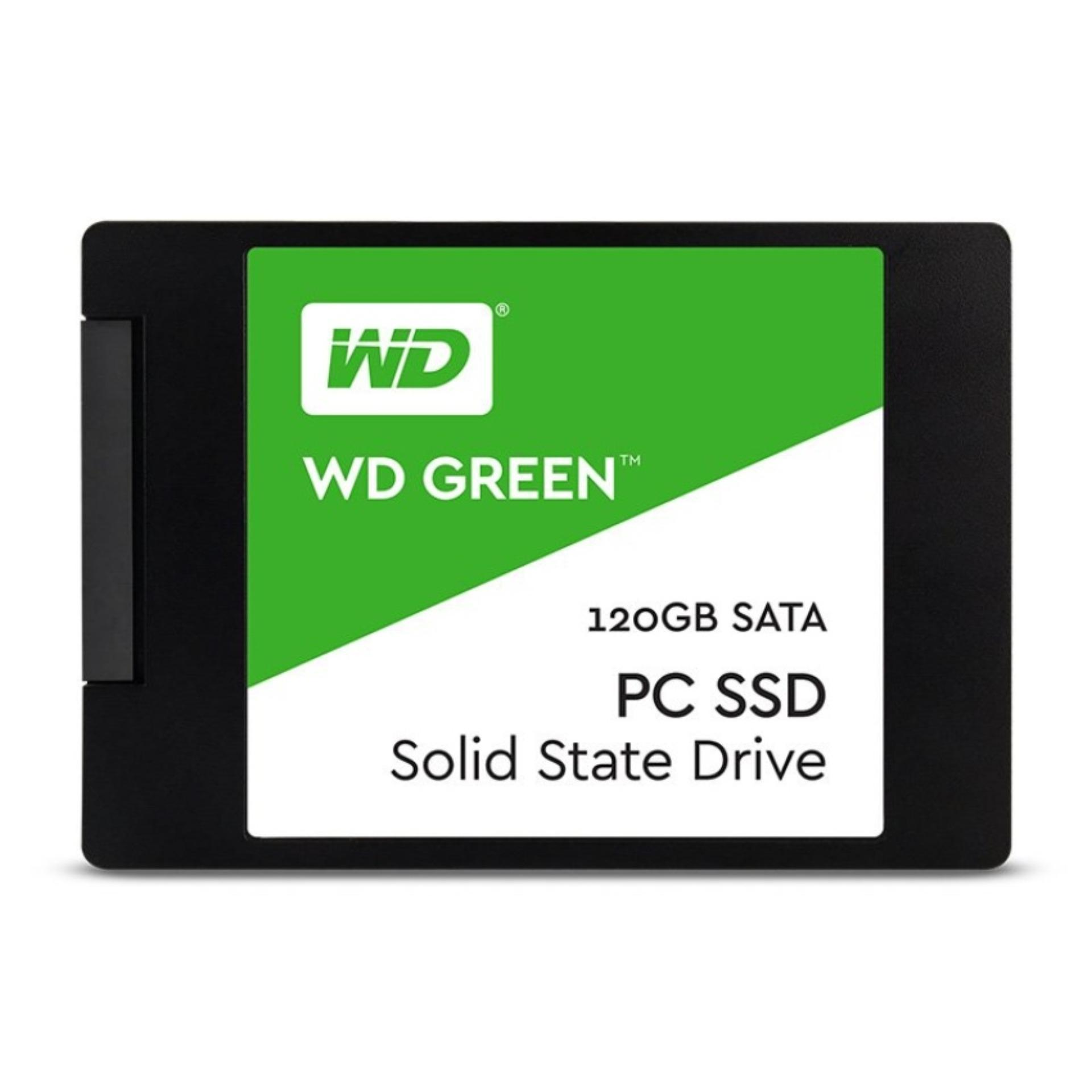 Ssd Wd 120Gb Green Sata Asli