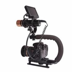 Harga Stabilizer C Shape Bracket Video Handheld Grip Untuk Kamera Camcorder Hitam Intl Oem Original