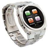Tips Beli Stainless Steel Desain Smart Watch Quad Band Watch Ponsel Java Bluetooth 1 3 M Kamera Smartwatch Wap Mp3 Mp4 Bb818 Intl Yang Bagus