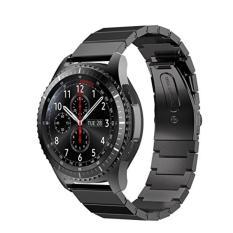 Beli Barang Stainless Steel Watch Band Quick Release Tali Dengan Gesper Logam Untuk Gear S3 Klasik S3 Frontier Gear 2 R380 R381 R382 Moto 360 2 46Mm Lg G Watch Pebble Time Online