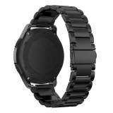 Jual Stainless Steel Watch Band Tali Gesper Logam Untuk Samsung Gear S3 Frontier Bk Intl Online Tiongkok