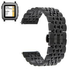 Jual Stainless Steel Watch Band Tali Gelang Gesper Logam Untuk Pebble Time Pebble Time 2 Pebble Time Steel Intl Grosir