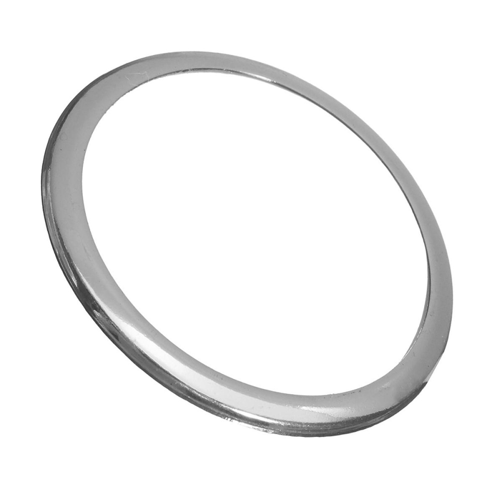 Stainless Steel Watch Case Cover Protector Ring Bumper untuk Samsung Gear S2 Watch, SILVER-Intl