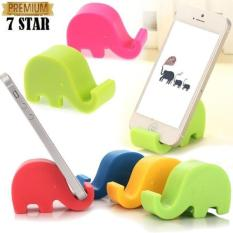 Stand Handphone Bentuk Gajah / Stand HP Elephant Holder HP - Random Colour 1Pcs