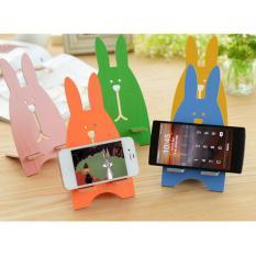 Stand Hp Bentuk Kelinci Ukuran Besar Dock / Sandaran Handphone/iPad - Random Colour