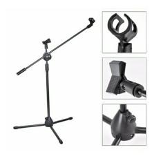 stand mic Tripod panjang Free 2 Holder mic Rd - 209 Original