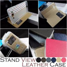 Stand View Leather Case Samsung Galaxy Grand Prime Plus G531