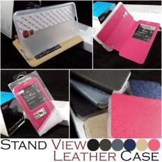 Stand View Leather Case Samsung Galaxy Mega 2 G7508