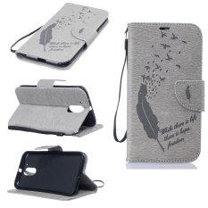 Dompet Dompet Dompet Kartu Kredit ID Pemegang Magnetic Flip Folio TPU Lembut Bumper PU Kulit Ultra Slim Fit Case Cover untuk Motorola MOTO G4 Plus-Intl