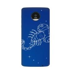 Star Universe Scorpio Rasi Pola Motorola MOTO Z/Z Force/Z2 Force Droid Magnetic Mods Phonecase Gaya MOD Hadiah-Intl