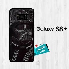 Star Wars Darth Vader Typograph V0514 Casing HP Samsung Galaxy S8 Plus Custom Case Cover