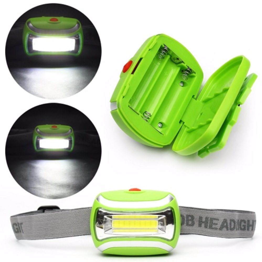 Review Toko Starjakarta 3 Modes Waterproof Led Headlight Outdoor Head Lamp Headlamp Hijau