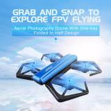 Spesifikasi Starwego Drone Rc Quadcopter Jjrc H43Wh Mini Foldable Rc Selfie Drone Camera Hd Altitude Hold Jjrc