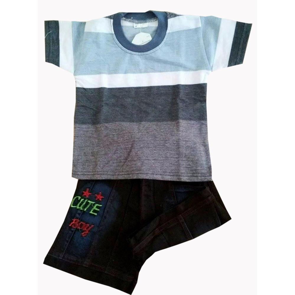 Iklan Stelan Kaos Anak Boy Usia 1 Tahun Size S