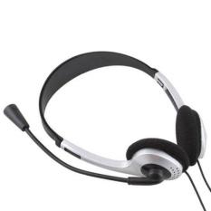Harga Stereo Headphone Headset Earphone Dengan Mic Untuk Pc Laptop Komputer Universal Baru Internasional New