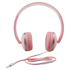 Toko Stereo Ringan Dilipat Adjustable Headband Headset Dengan Mikrofon Dan Kontrol Volume 3 5Mm Untuk Smartphone Ponsel Iphone Laptop Komputer Mp3 4 Earphone Pink Di Tiongkok