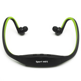 Jual Headphone Stereo For Pemutar Musik Mp3 Dari Micro Sd Slot Tf Warna Hitam Hijau Branded Original