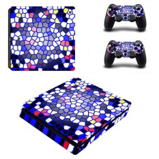 Sticker Console Decal Playstation 4 Controller Vinyl Skin Vice City for PS4 Slim - intl