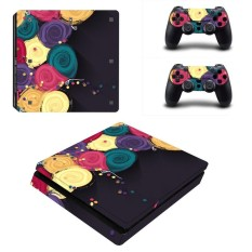 Sticker Konsol Decal PlayStation 4 Controller Vinyl Skin Vice City untuk PS4 Slim-Internasional