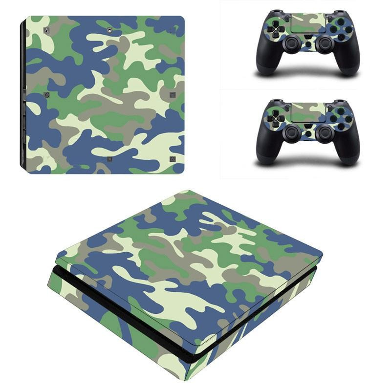 Sticker Konsol Decal PlayStation 4 Controller Vinyl Skin Vice City untuk PS4 Slim YSP4S-0084-Intl
