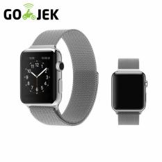 Jual Strap Apple Magnet Strap Jam Tangan Apple Watch Stainless Steel Unisex Sporty Series 1 2 42Mm Branded Murah
