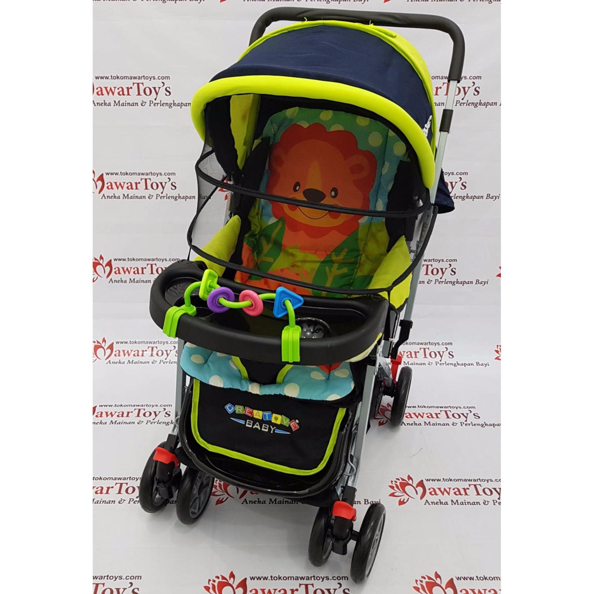 stroller pliko creative classic bs 218 (original) 1234 67618673 774032e531fd2e8ab0ec233304b8f1f0