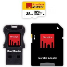 Toko Strontium Nitro 466X Microsdhc Uhs 1 70Mb S Class 10 32Gb With Adapter And Card Reader Srn32Gtfu1C Strontium Online