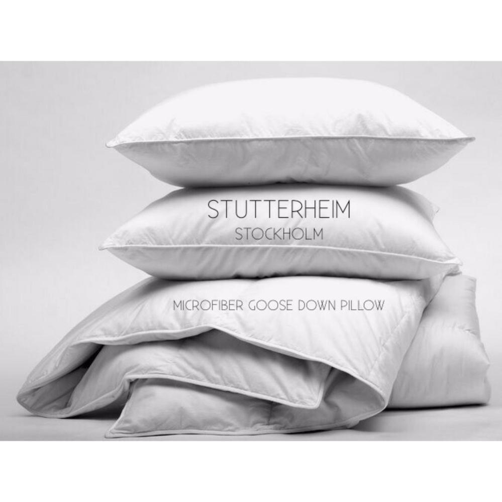 Stutterheim Bantal Tidur Hotel Microfiber Bulu Angsa / Pillow Goose Down Made In Sweden