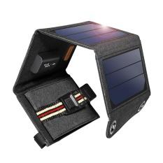 Suaoki 7 W Solar Charger Dengan Portable Tenaga Panel Surya Intl Terbaru