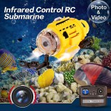 Toko Sub Mariner Camera Underwater Drones Rc Radio Remote Control Submarine Feeding Yellow Intl Terdekat
