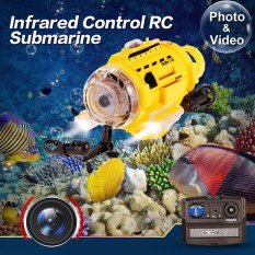 Jual Sub Mariner Camera Underwater Drones Rc Radio Remote Control Submarine Feeding Yellow Intl Satu Set