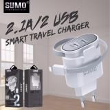 Harga Sumo Sc 218 Dobel Usb Double Batok Adaptor Cas Casan Original 100 Persen Edge Fast Charging Travel Adaptive Adapter Charger Charge Yang Murah Dan Bagus