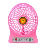 Review Pada Sun Kipas Angin Mini Rechargeable Suncn669 Merah Muda