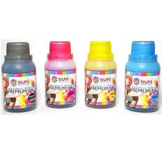 SUN Tinta HP Premium INK NFI 100 ml 1 Set 4 Warna