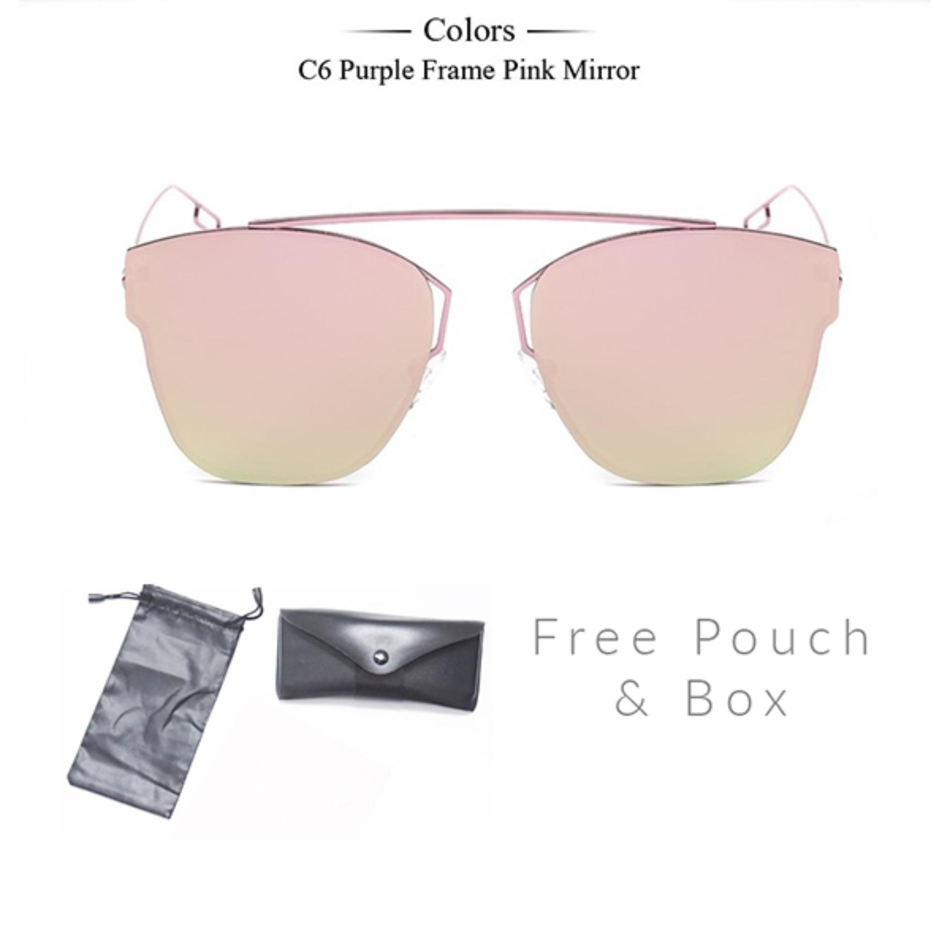 Sunglasses Fashion Eyewear Corello Kacamata - Pink