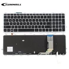 SUNMALL Laptop Keyboard Isi Ulang untuk HP ENVY 15-J 17-J 15-j000 15-j100 15t-J000 15t-j100 15z-j000 17-j000 17t-j000, HP TouchSmart 15-J 15T-J 17-J 17T-J 15-J000 17-J000 US Layout (Garansi 6 Bulan)-Intl