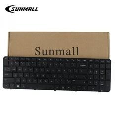 Sunmall Pengganti Keyboard dengan Bingkai untuk Paviliun HP G7-2000 G7-2100 G7-2200 G7-2300 G7Z-2000 G7Z-2100 G7Z-2200 G7Z-2300 G7Z-2400 (CTO) r39 Serise Hitam Tata Letak US (Garansi 6 Bulan)-Intl