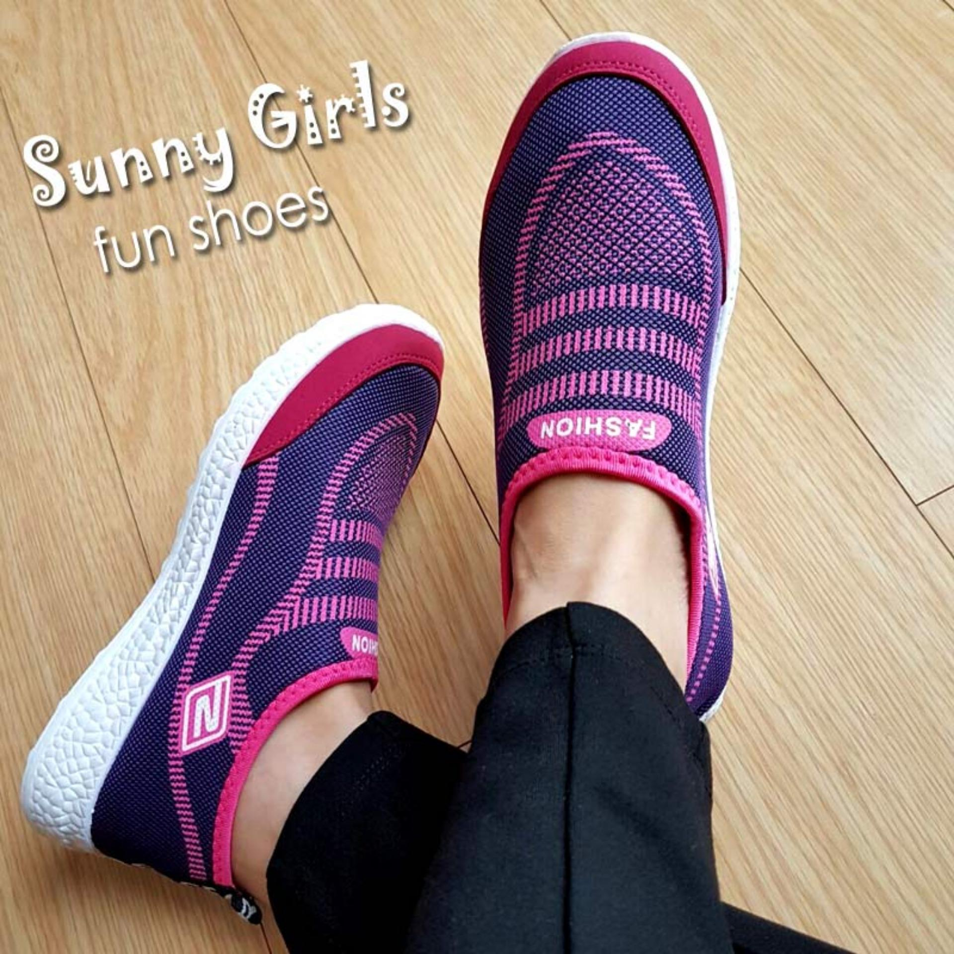 Spesifikasi Sunny Girls Amalia Comfort Shoes 603 Pink