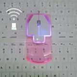 Beli Barang Sunshop Ultra Thin Luminous Mouse Optik Nirkabel Unik Fashion Transparan Komputer Tikus Internasional Online