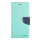 Harga Sunsky Pencocokan Silang Horisontal Membalik Warna Tekstur Sampulnya For Asus Zenfone Selfie Zd551Kl Hijau Sunsky