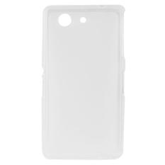 Sunsky Frosted Ganda TPU Case untuk Sony Xperia Z3 Kompak/M55W (Jelas)