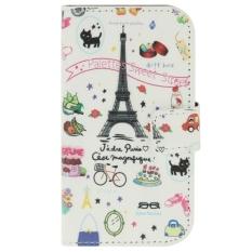 SUNSKY Flip Magnetic Buckle Kulit Cover untuk Samsung GALAXY Trend Lite/S7390 (Multicolor)