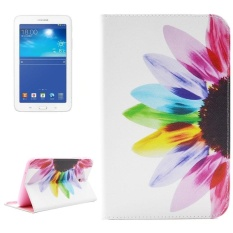 SUNSKY Leather Cover for Samsung Galaxy Tab 3 Lite 7.0 / T110 / T111 (Multicolor) - intl
